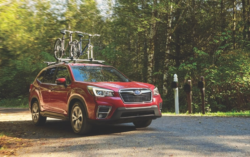 2021 Subaru Forester Red Woods