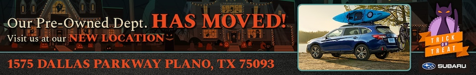 Pre-Owned Dept. Has Moved