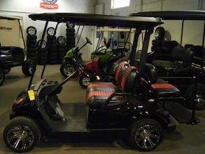 2014 YAMAHA DRIVE Golf Cart OEM New Painted Body - LowPro - Black Roof