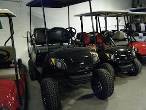 2013 YAMAHA DRIVE Golf Cart OEM New Painted Body - Custom Seats - Black Roof
