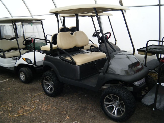 2013 CLUB CAR Precedent GAS Lifted Golf Cart - OEM New Painted Body