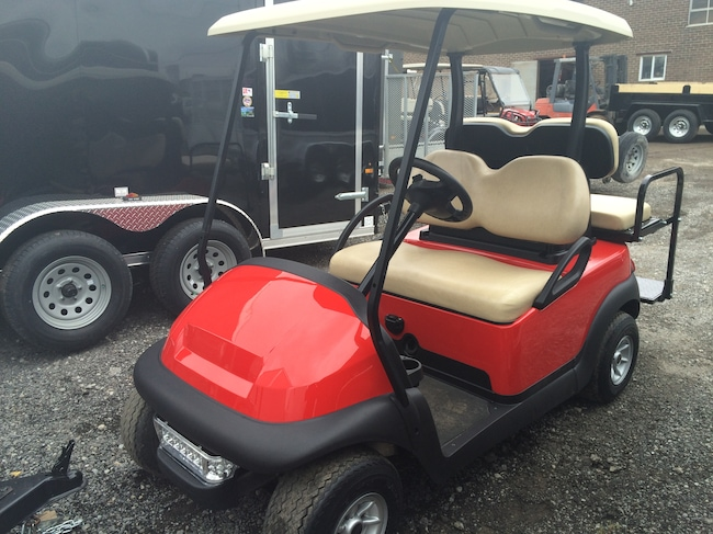 2013 CLUB CAR Precedent GAS Golf Cart!