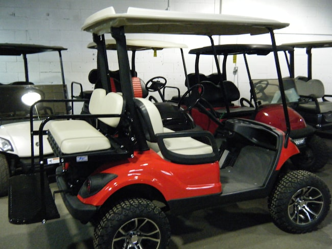 2014 YAMAHA DRIVE Golf Cart Custom Golf Cart with OEM New Painted Body!