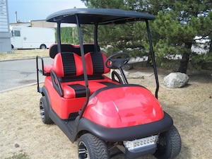 2007 CLUB CAR Precedent OEM New Painted Body - LowPro - Black Roof