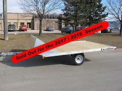 2019 Excalibur 10' Galvanized Double Snowmobile Trailer -