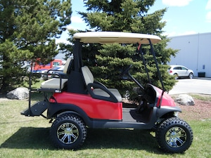2013 CLUB CAR Precedent Custom Golf Cart with OEM New Painted Body