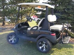 2007 CLUB CAR Precedent Custom Golf Cart with OEM New Painted Body