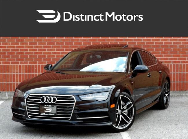 2016 Audi A7 3.0T, S LINE,NAV,LED LIGHTS,DRIVE SELECT Hatchback