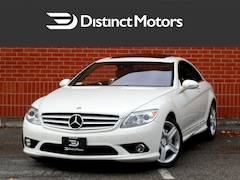 2008 Mercedes-Benz CL-Class AMG SPORT, PREMIUM, NIGHT VIEW ASSIST, LOADED Coupe