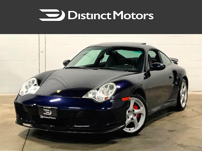 2003 Porsche 911 TURBO  WITH NAV,SUPER CLEAN,CANADIAN Coupe