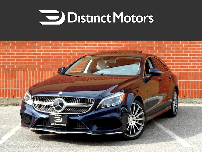 2015 Mercedes-Benz CLS-Class 550 4MATIC, AMG SPORT, DRIVERS ASSISTANCE, ON CAR Coupe