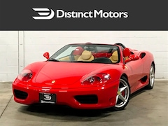 2004 FERRARI 360 SPIDER F1,DAYTONA SEATS,TUBI EXHAUST,CANADIAN Convertible