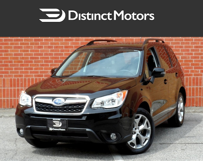 2015 Subaru Forester LIMITED,NAV,REAR CAM,PANORAMIC,LOADED SUV