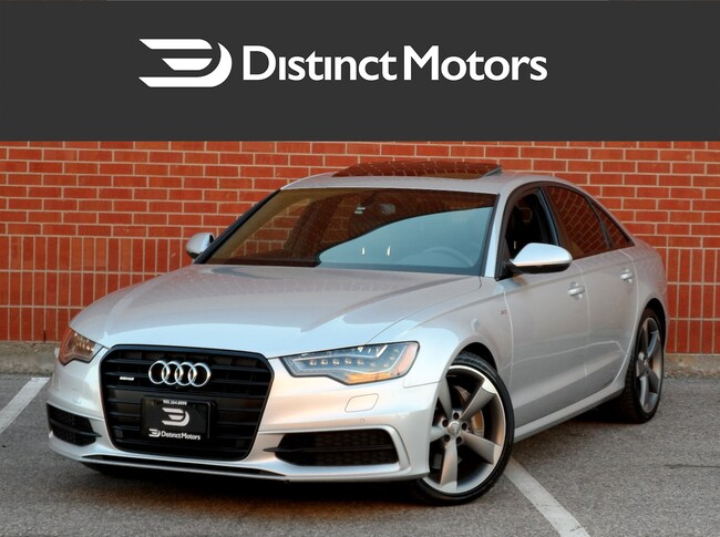 2015 Audi A6 3.0T, S Line, Technik, Nav, 360 Cam, Black Optic Sedan