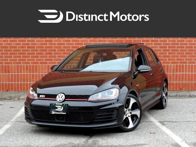 2015 Volkswagen Golf GTI Autobahn,NAV,REAR CAM,LOADED Hatchback