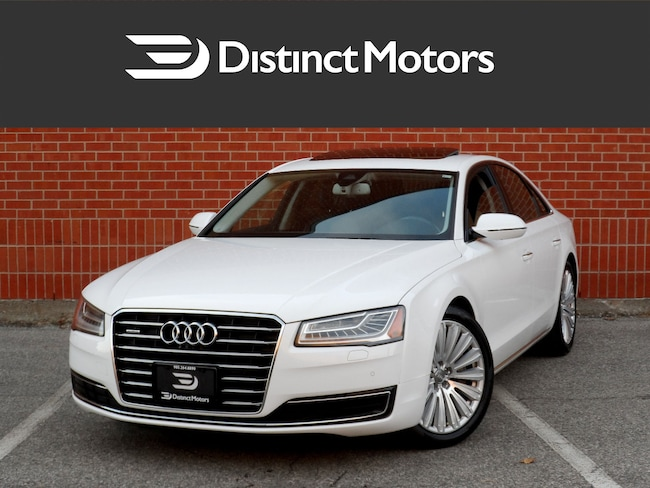 2015 Audi A8 PREMIUM,BANG&OLUFSEN, NAV, 360 CAM, LOADED Sedan