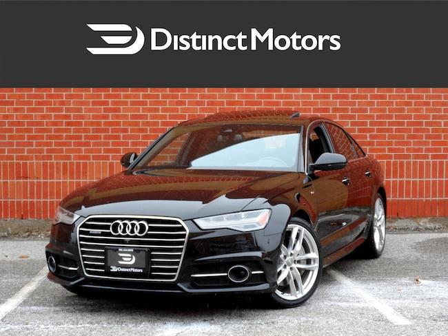 2016 Audi A6 3.0T Technik, S LINE, MASSAGE SEATS, NAV, 360 CAM Sedan