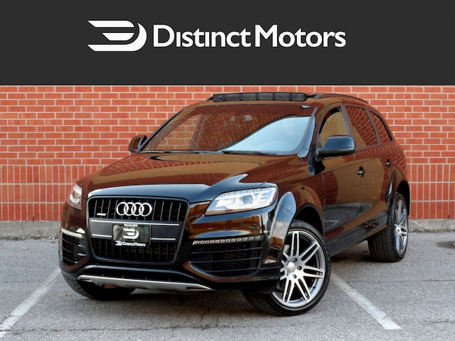 2015 Audi Q7 SPORTLINE PLUS, 7 PASS, BLACK OPTIC, WIDE BODY SUV