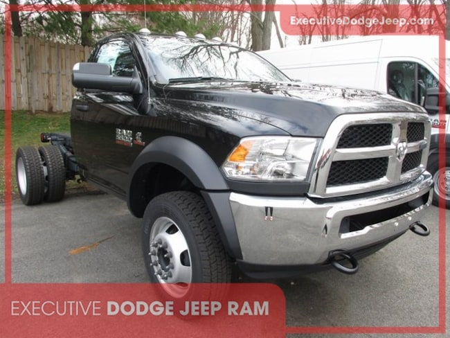 New 2018 Ram 5500 TRADESMAN CHASSIS REGULAR CAB 4X4 144.5 WB Regular Cab in Wallingford, CT