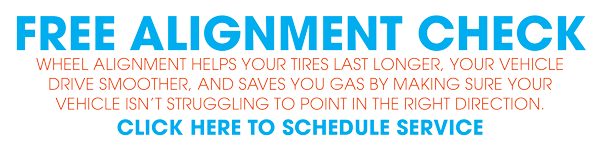 Schedule your FREE alignment check!