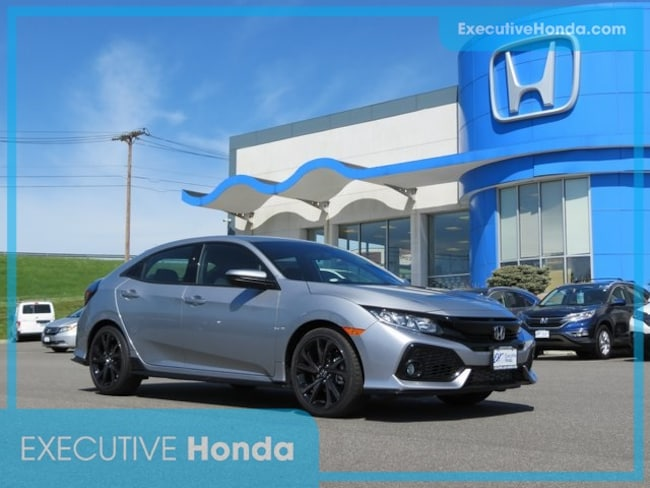 New 2018 Honda Civic Sport Hatchback in Wallingford, CT