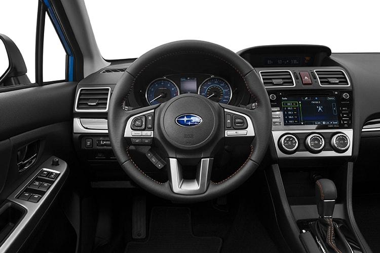 Subaru Crosstrek Black Interior: