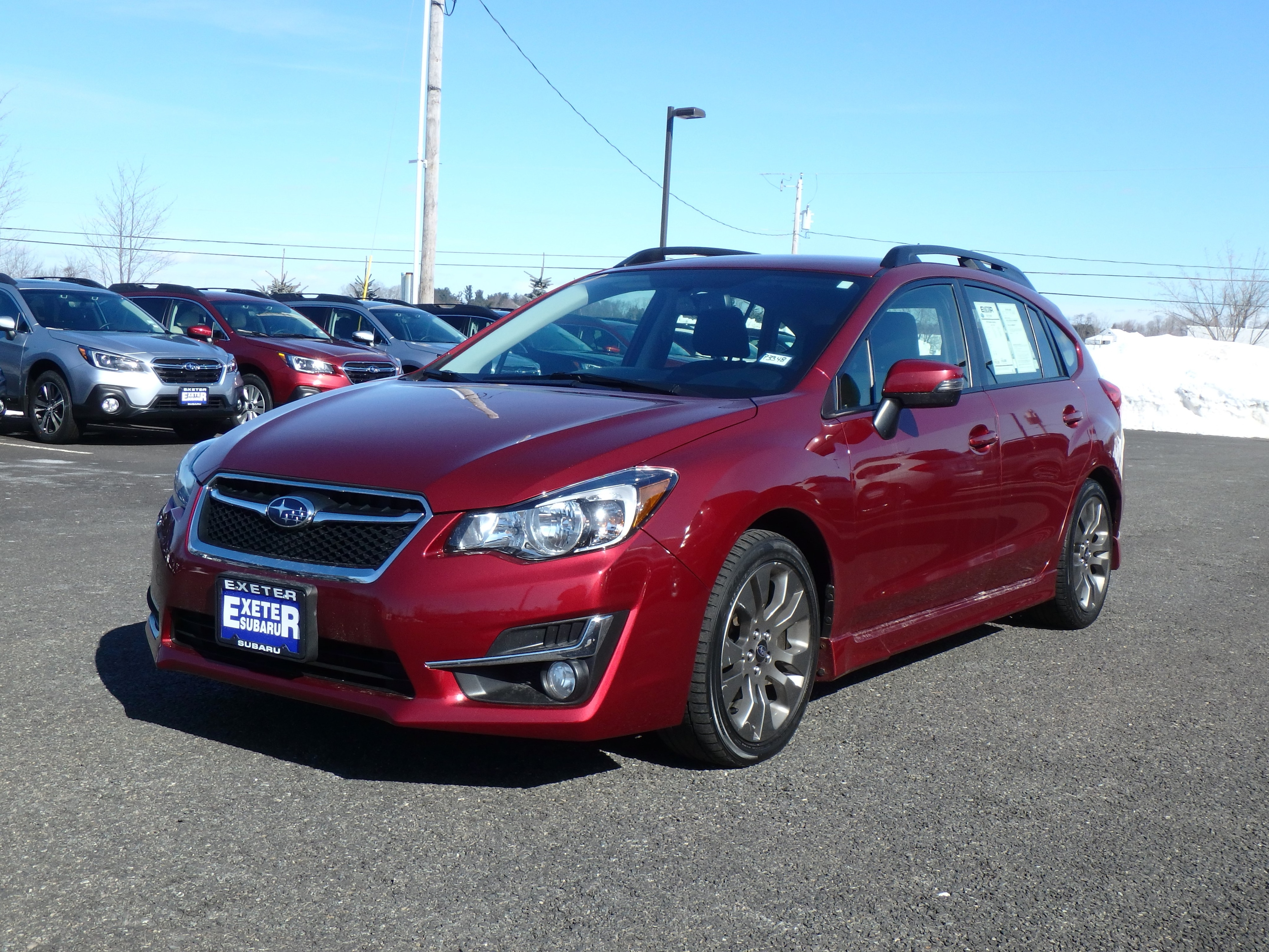 2016 Subaru Impreza Sport Premium HATCH