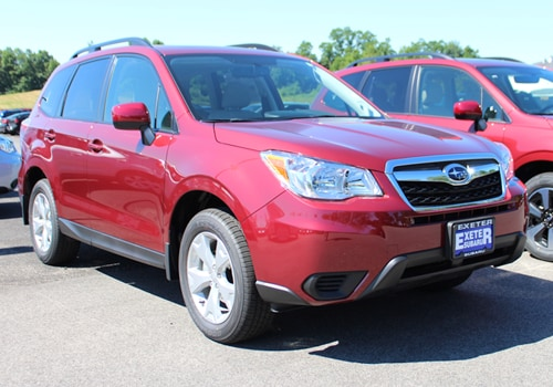 2016 Subaru Forester vs 2017 Subaru Forester at Exeter Subaru