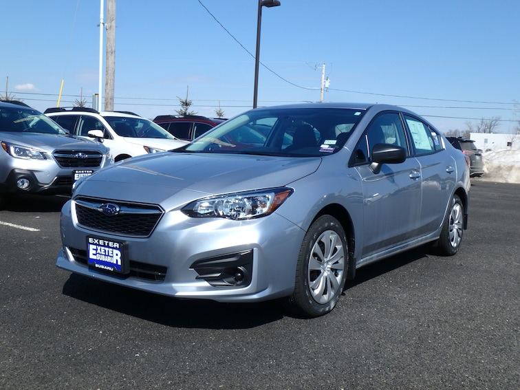 New 2019 Subaru Impreza 2.0i Sedan in Stratham, NH