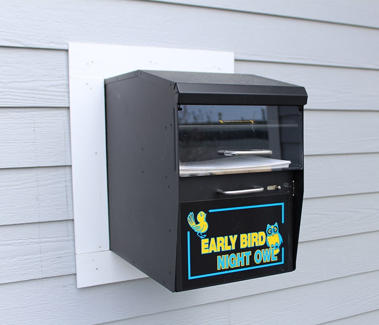 Exeter Subaru Service Key Drop Box