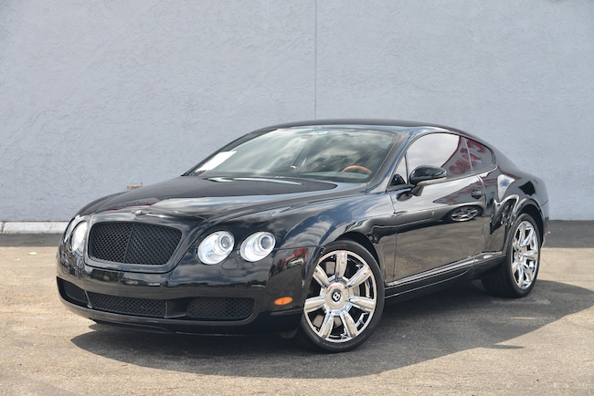 2007 Bentley Continental GT Base Coupe