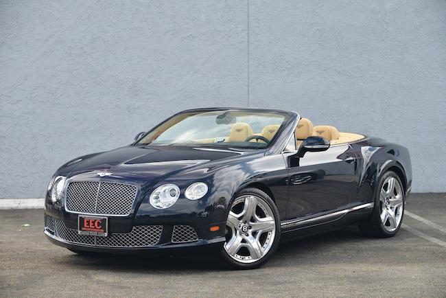 2012 Bentley Continental GTC Base Convertible