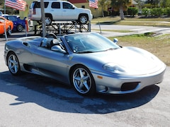 2003 Ferrari 360 Modena Spider (6 SPD MANUAL//3-PEDAL) Convertible