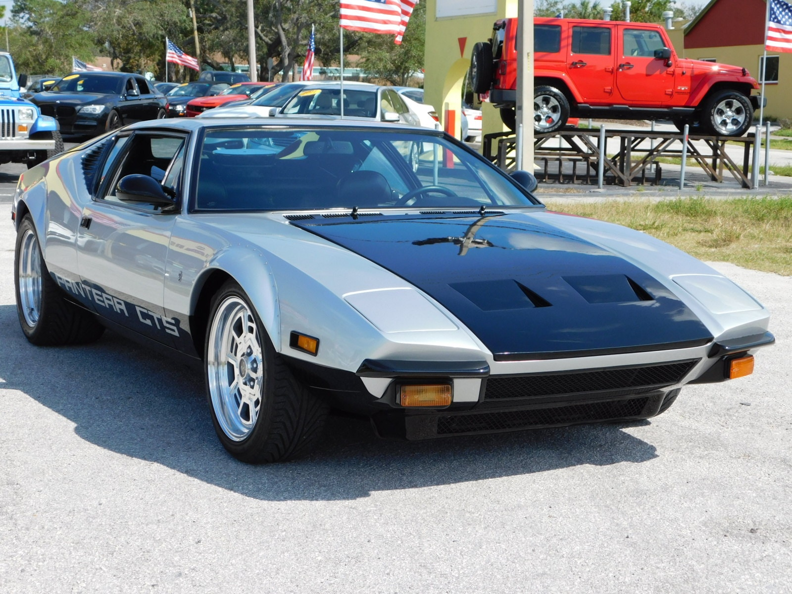 Used 1974 De Tomaso Pantera For Sale