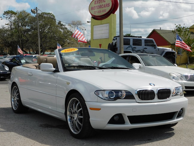 Used BMW Ci For Sale Tarpon Springs FL - 2006 bmw convertible