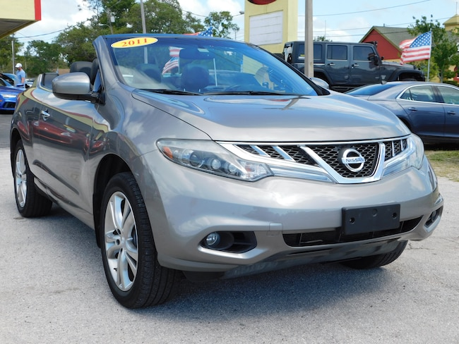 Used 2011 Nissan Murano Crosscabriolet For Sale Tarpon Springs Fl
