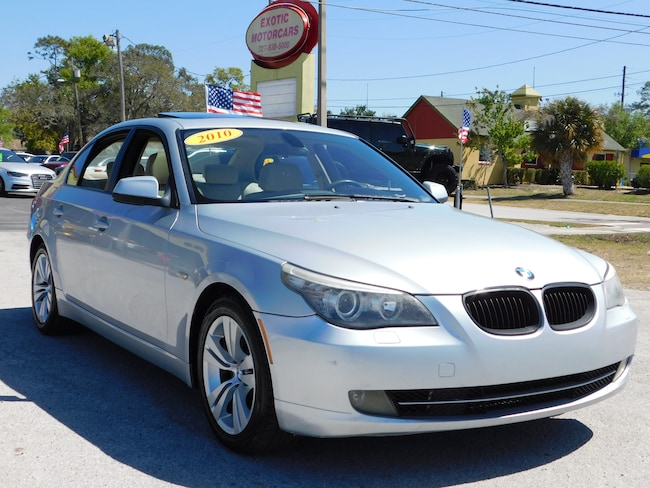 2010 BMW 528i CLEAN CARFAX FLORIDA CAR!! Sedan
