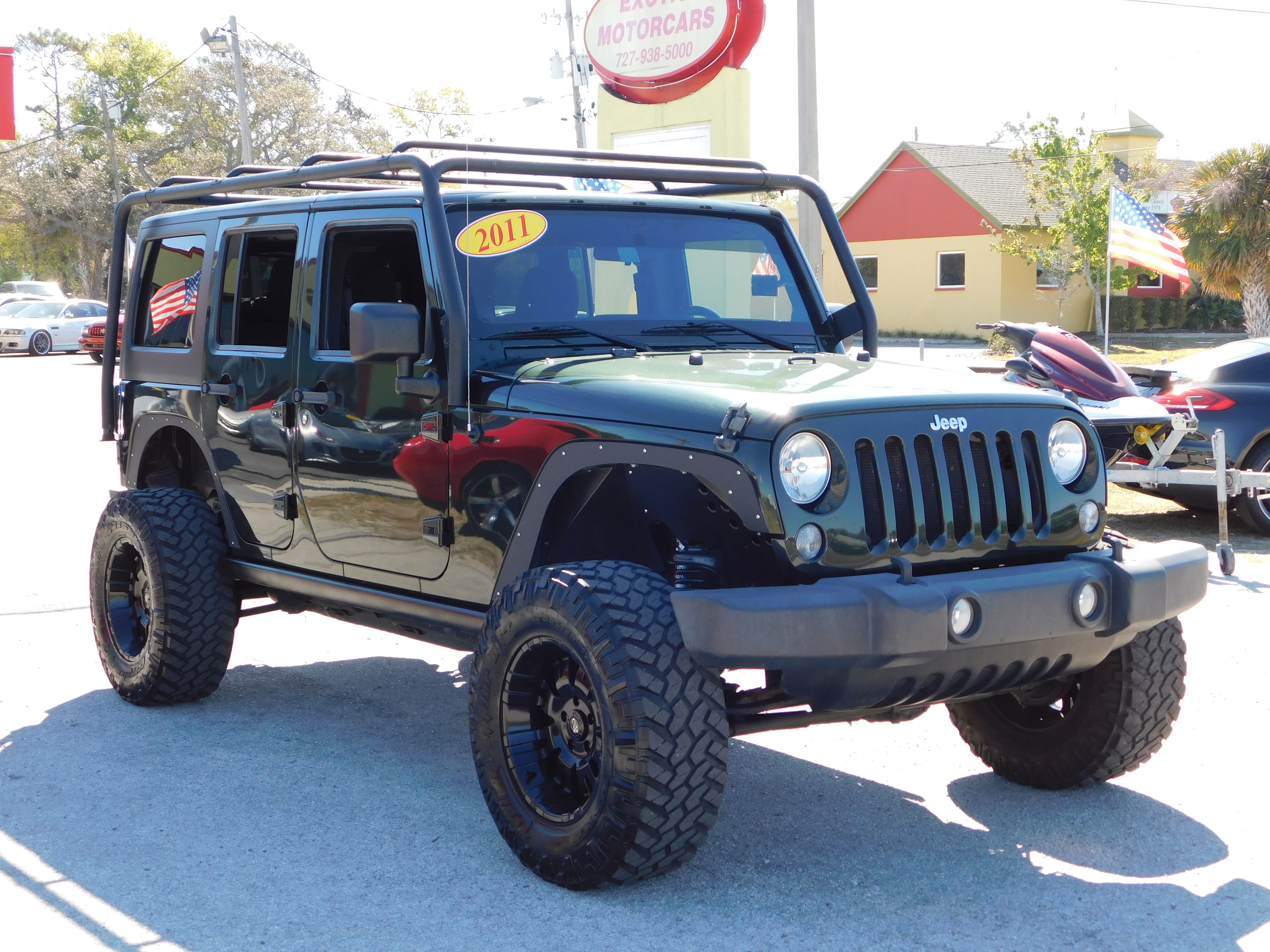 Used 2011 Jeep Wrangler Unlimited For Sale