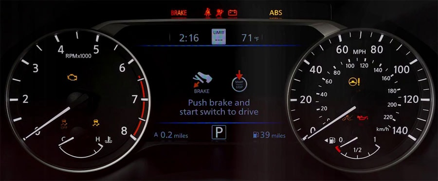 Nissan Dashboard Warning Light Guide From Exton Nissan
