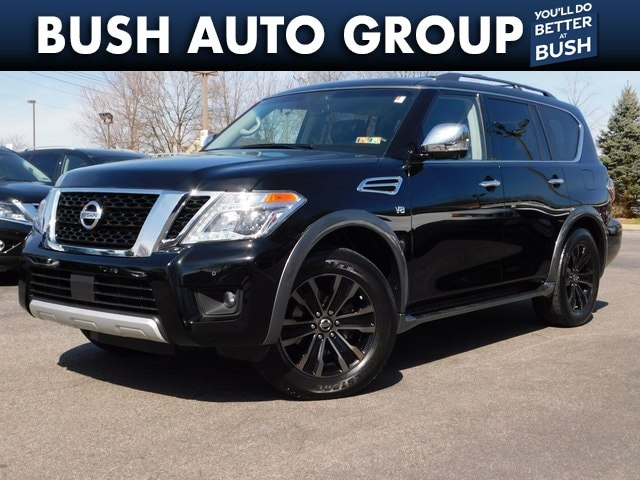 Used 2017 Nissan Armada For Sale at Exton Nissan   VIN
