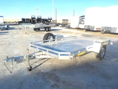 2020 Aluma 7712H TILT UTILITY TRAILER W/3500# TORSION AXLE