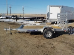 2019 Aluma 6810ESW WOOD DECK UTILITY TRAILER W/3500# TORSION AXLE