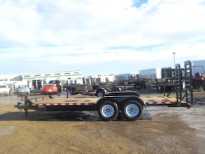 2018 Canada Trailers CE720-14K EQUIPMENT TRAILER W/14000# GVWR