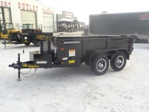 2019 Big Tex Trailers 70SR-10-5WDD DUMP W/7000# GVWR