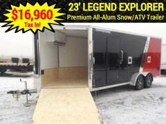 2019 Legend 7 X 23 W/3500# TORSION AXLE