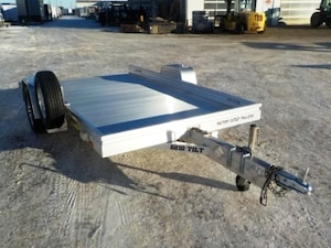 2019 Aluma 6810T Utility Trailer W/2200# TORSION AXLE