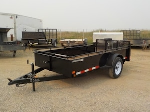 2018 Canada Trailers UT510-3K Single Axle Utility W/2995# GVWR
