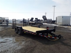 2018 Big Tex Trailers 14ET-18-KR EQUIPMENT TRAILER W/14000# GVWR