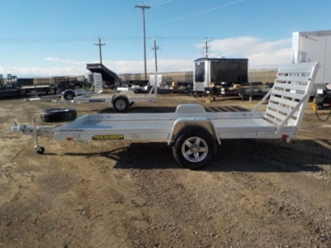 2019 Aluma 6812H UTILITY TRAILER W/3500# TORSION AXLE
