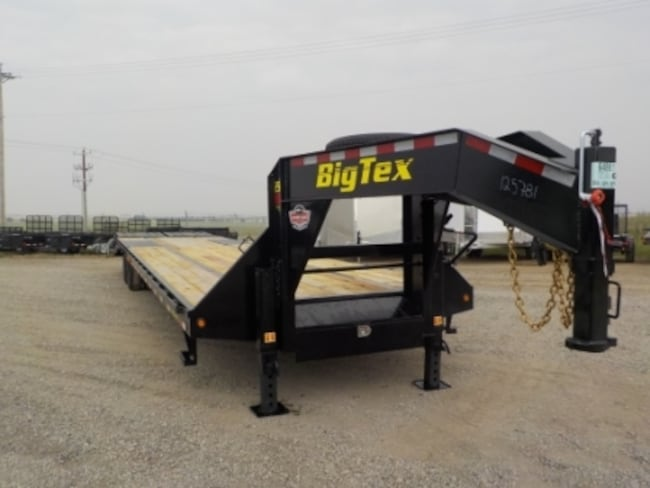 2019 Big Tex Trailers 25GN-35+5MR GOOSENECK W/25900# GVWR